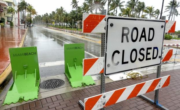 Жителите на Южна Флорида не успяха да се насладят на