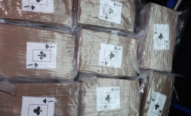 Кокаинът, открит вчера вечерта при обиск в жилището на задържания