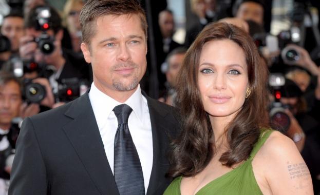 Брад Пит и Анджелина Джоли са в по-добри отношения, откакто