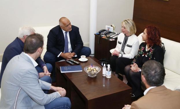 Премиерът Бойко Борисов се срещна с представители на Българското конгресно