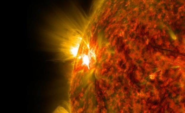 НАСА регистрира най-силното слънчево изригване след октомври 2017 г. през