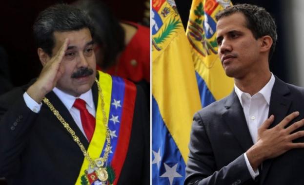 Президентът социалист Николас Мадуро и опозиционният лидер Хуан Гуайдо постигнаха
