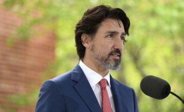 Канадският премиер Джъстин Трюдо остана безмълвен 21 секунди, когато бе