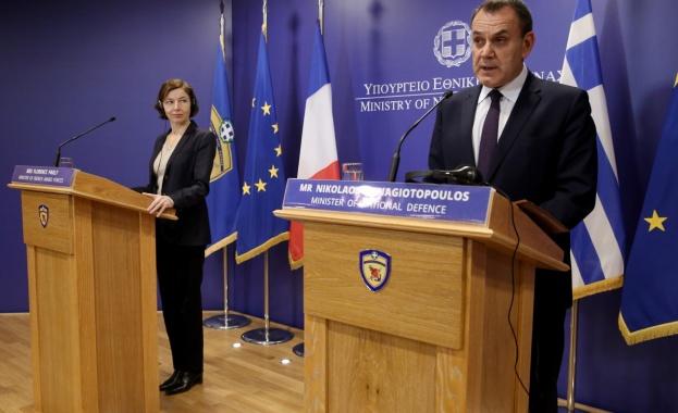 Министърът на националната отбрана на Гърция Никос Панайотопулос заяви, че