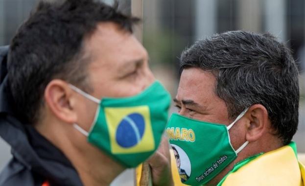 Бразилия изпревари Италия по брой на починалите от COVID-19. Властите