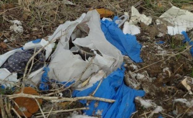 Общината в Кочериново почисти незаконно сметище под известните Стобски пирамиди,