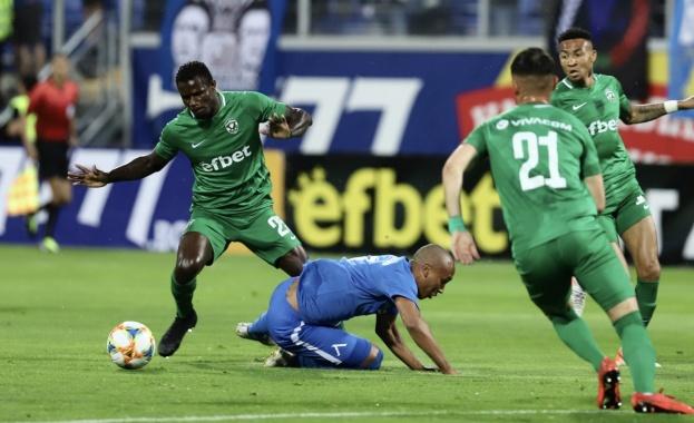 Лудогорец победи Левски с 1:0 като гост в среща от
