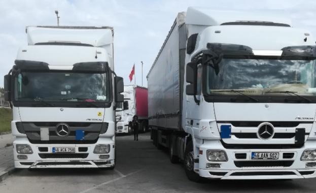 """Интензивен трафик на камиони на ГКПП """"Видин"""""""