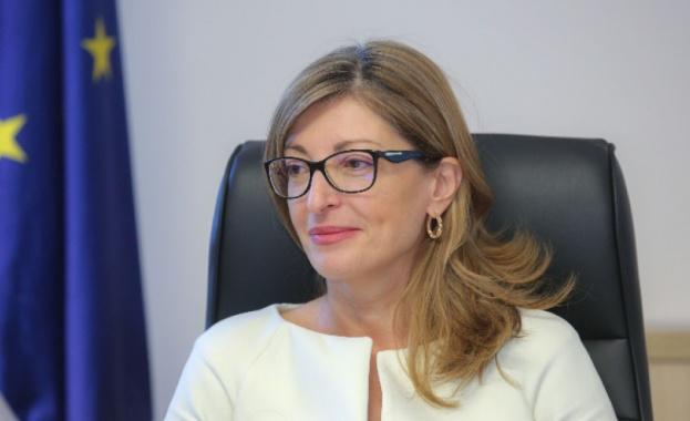 Министърът на външните работи Екатерина Захариева подчерта, че вдигането на