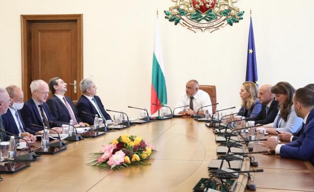 Министър-председателят Бойко Борисов проведе среща с национално представителни организации на