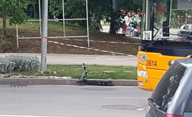Столични полицаи изясняват обстоятелствата около тежък пътен инцидент на ул.