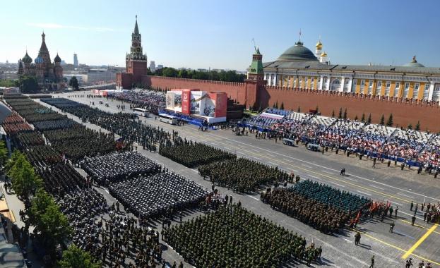 Москва прие парада за 75 г. от края на Втората световна война