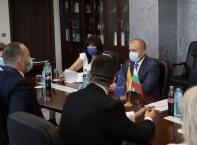 Държавният глава Румен Радев посети Плиска и Нови пазар