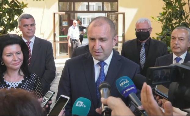 Румен Радев: Последните записи, за които се твърди, че са с премиера Бойко Борисов са тревожни