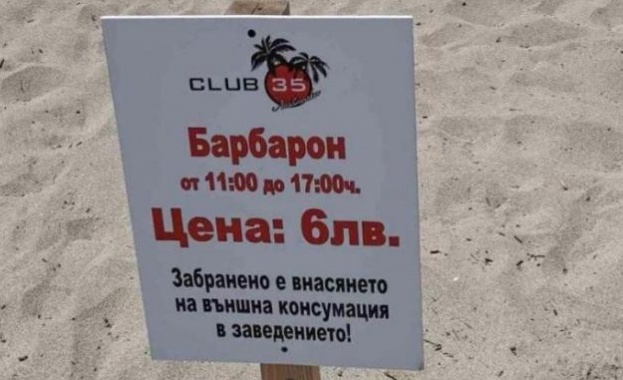 "Мила родна картинка: Такса ""барбарон"" и багери на метри от плажуващите"