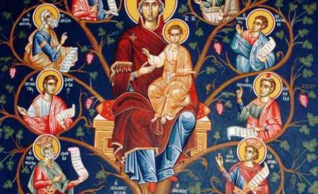 Св. мчк Иакинт. Св. Анатолий, патр. Константинополски