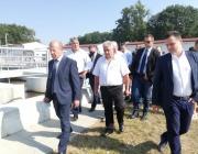 Борисов откри обхода на Поморие и пречиствателната станция в Китен