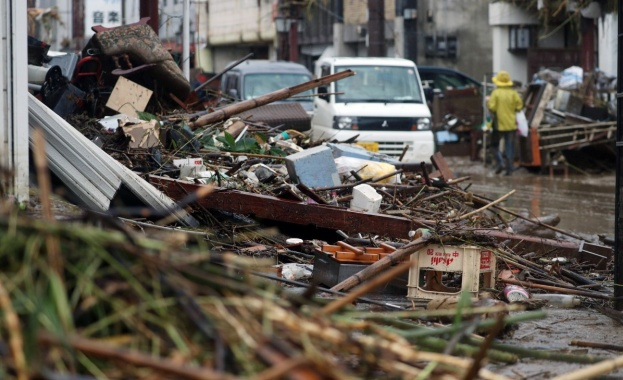 Най-малко 40 души са загинали на югозападния остров Кюшу в