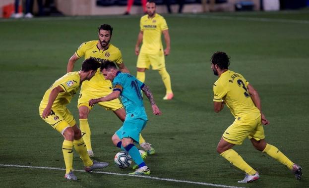 """Барселона победи Виляреал с 4:1 като гост на стадион """"Ел"""