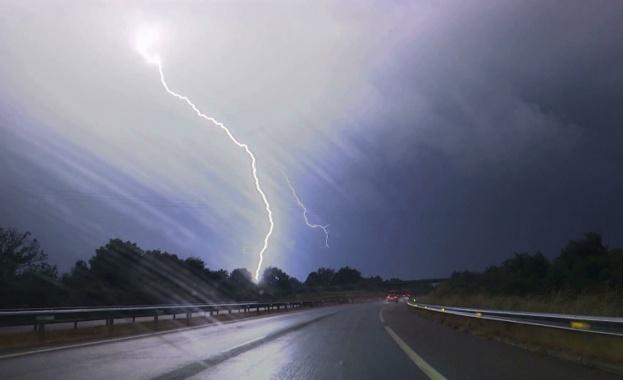 Днес ще се развива купесто-дъждовна облачност над Западна и Централна
