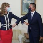 Екатерина Захариева се срещна с министъра на външните работи на Италия