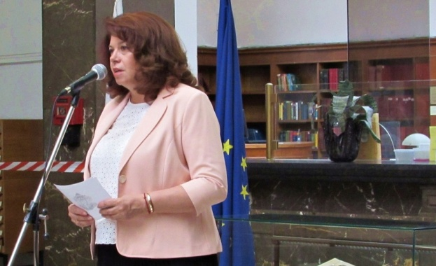 Илияна Йотова бе гост на откриването в Националната библиотека на