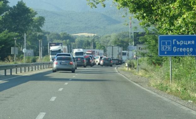 """На двата гранични пункта между България и Гърция - """"Кулата-"""