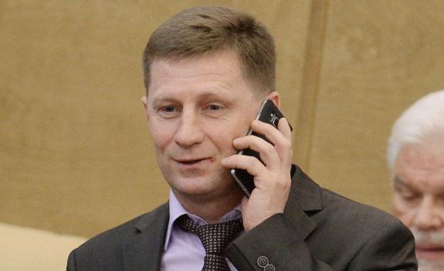 Губернаторът на руския Хабаровски край в Далечния изток е арестуван