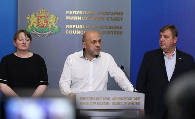 Правителството отговори на президента Румен Радев, който поиска оставката на