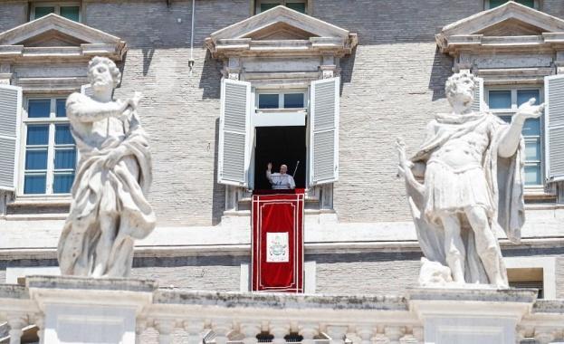 Главата на Римокатолическата църква папа Франциск е изключително