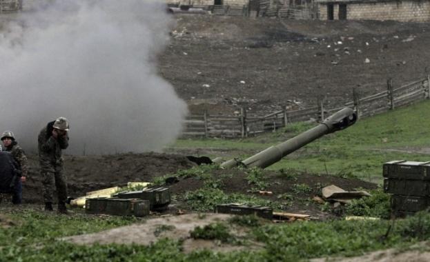 Военните на Азербайджан са нанесли удар по опорен пункт на