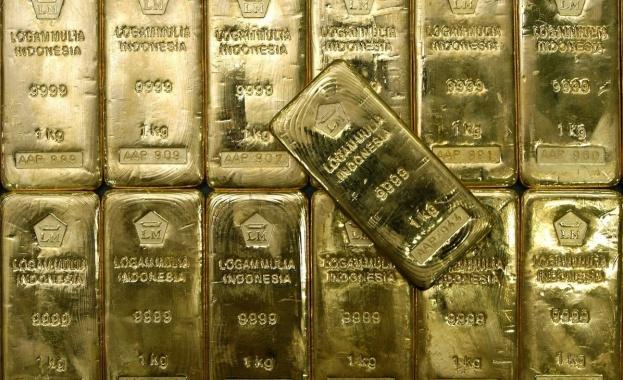 Приходите на Русия от износ на злато за първи път