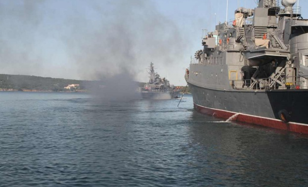 "На националното военноморско учение с международно участие ""Бриз 2020"