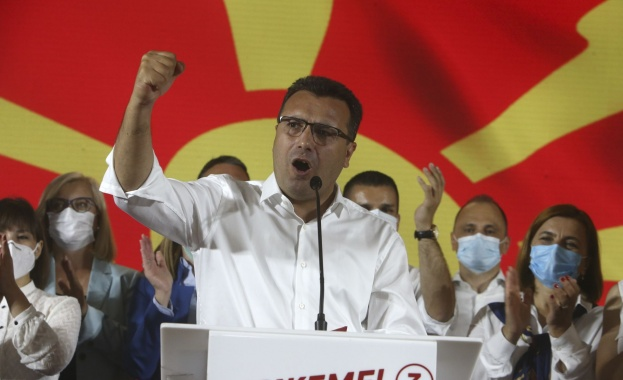 Социалдемократите на бившия премиер Зоран Заев изпревариха с малка преднина
