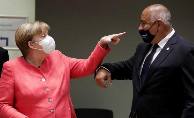 В Брюксел критикуват Борисов, че не носи правилно маската си - Cross.bg