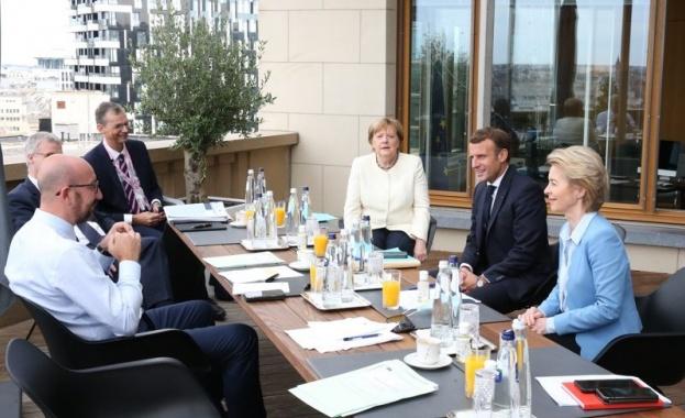 Германският канцлер Ангела Меркел заяви днес, че е възможно лидерите
