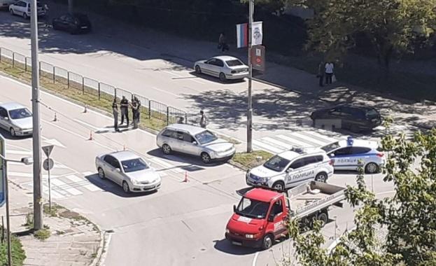 Лека кола е блъснала жена на пешеходна пътека във Видин,