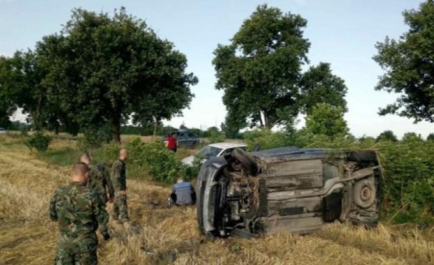 Военнослужещи от Съвместното командване на специалните операции помогнаха на пострадали