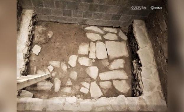 В Мексико Сити откриха останките от двореца на ацтеките, в