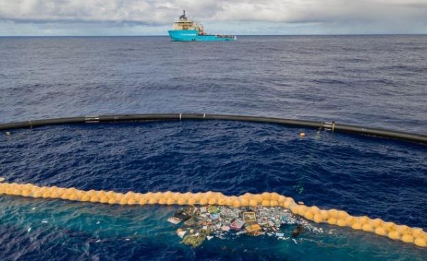 Създадоха разтворими в морска вода пластмасови пликове