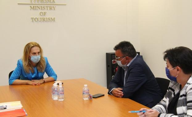 Заместник министър-председателят и министър на туризма Марияна Николова обсъди държавната