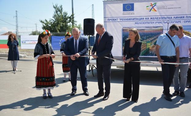 Министър Желязков: До 2023 ще асоциираме жп линията Пловдив – Бургас с понятието европейски железници
