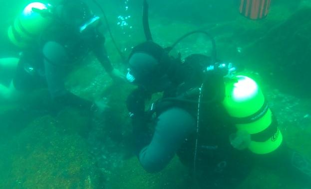 Сбор по водолазна подготовка на военнослужещите от инженерните водолазно-разузнавателни формирования