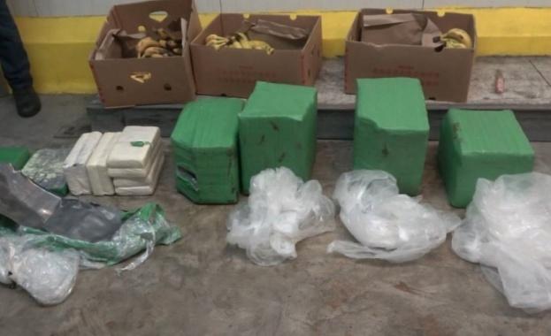 70,5 кг кокаин в контейнер с банани откриха митнически служители