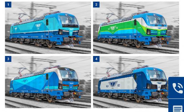 Графичната визия на новите локомотиви Сименс Smartron вече е избрана