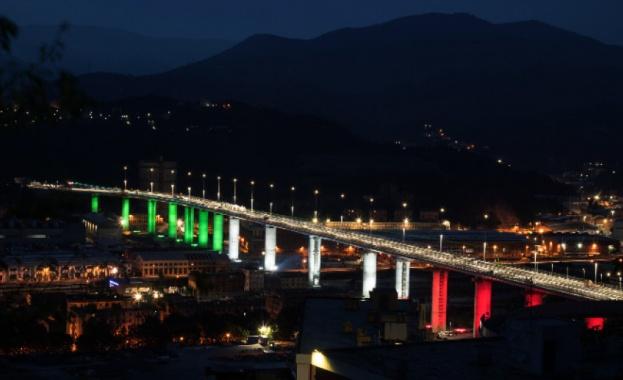 Днес ще бъде открит новият мост на Генуа. Той е