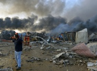 Бейрут след експлозиите