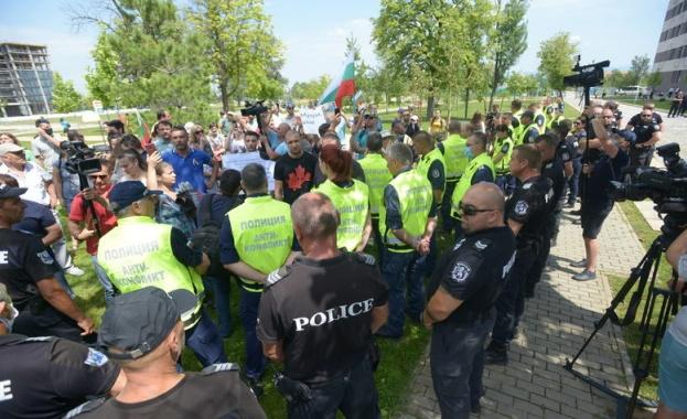 МВР оправда засиленото полицейско присъствие в района на националната конференция