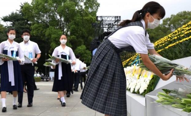 Япония почете жертвите от бомбардировката над Хирошима