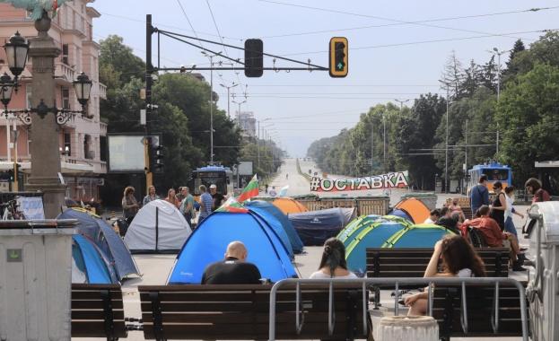 Централният булевард в София -